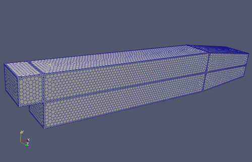 Polygon Surface Mesh