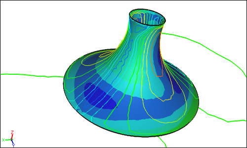 Steady-State Membrane CFD Simulation