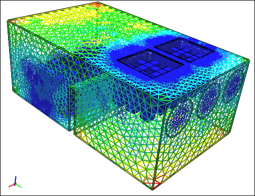 Mesh Created in Caedium