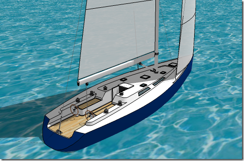 Original SketchUp Yacht Model