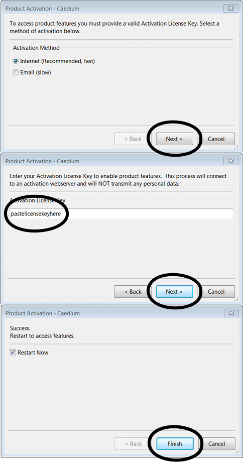 Product Activation using a License Key