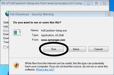 File Download Dialog