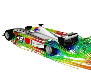 Formula 1 (RANS) CFD Simulation: Performed by Advantage CFD on a cluster