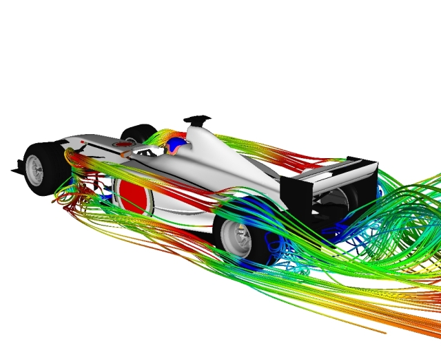 F1 Car by Advantage CFD
