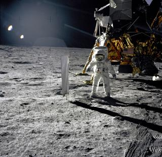 Buzz Aldrin and Apollo 11 Lunar Module: NASA's finest hour