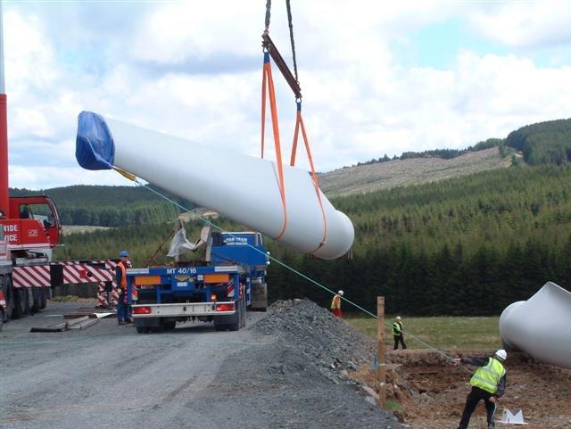 Blade of a Horizontal-Axis Wind Turbine