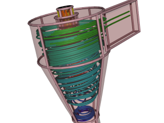 Cyclone Flow Simulation: Solving the RANS equations