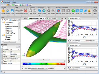 Panel Method Simulation in Caedium