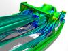 Open Wheel Race Car Streamlines