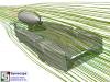 Streamlines F1 in Schools Design 2 Front View