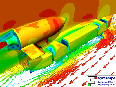 F1 in Schools World Finals CFD Simulation