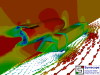 CO2 Jet Car v2 Rear View of Velocity