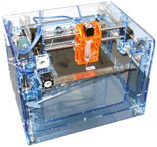 First Generation 3D Printer for Hobbyists