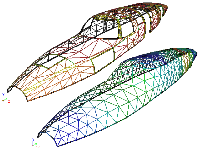 Faceted Fuselage