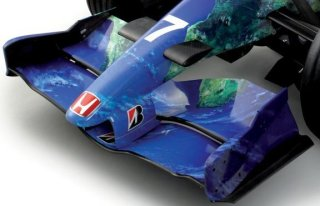 Front Wing on Formula 1 Car