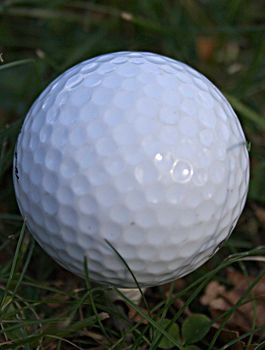 Dimpled Golf Ball