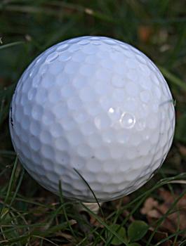 Dimpled Golf Ball