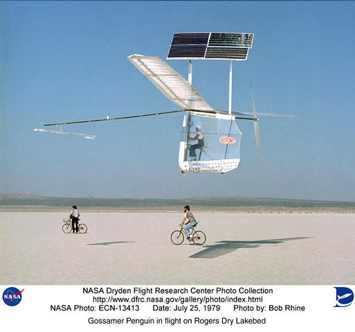 solar airplanes Design of solar powered airplanes for continuous flight december 2006 andré noth and roland siegwart 2 gossamer penguin, 1980 helios, 1999-2003.