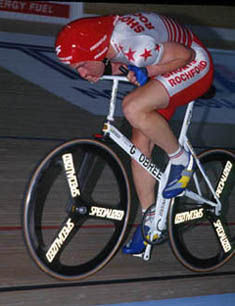 Graeme Obree Riding Old Faithful