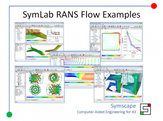 Caedium RANS Flow Examples Preview
