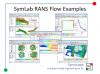 Caedium RANS Flow Examples Preview