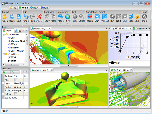 CFD Software in Action: Caedium Professional