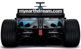 Rear of Formula 1 Car: Showing precious little of the secretive diffuser