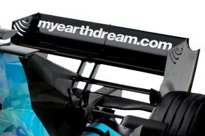 Rear Wing on Formula 1 Car
