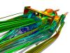 Refined Open Wheel Race Car Streamlines