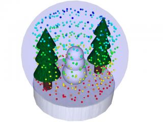 Snow Globe: Created using Caedium Professional