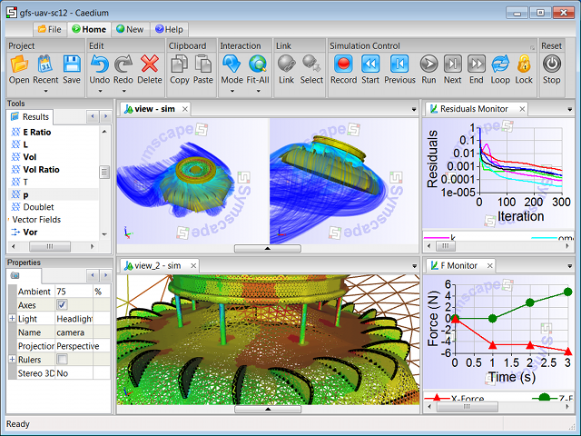 Singled Integrated CFD Simulation Environment: Caedium Professional