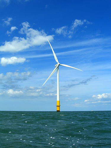 Offshore Wind Turbine: Kentish Flats, England