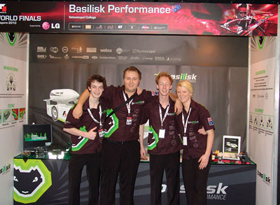 Basilisk Performance Team and Booth