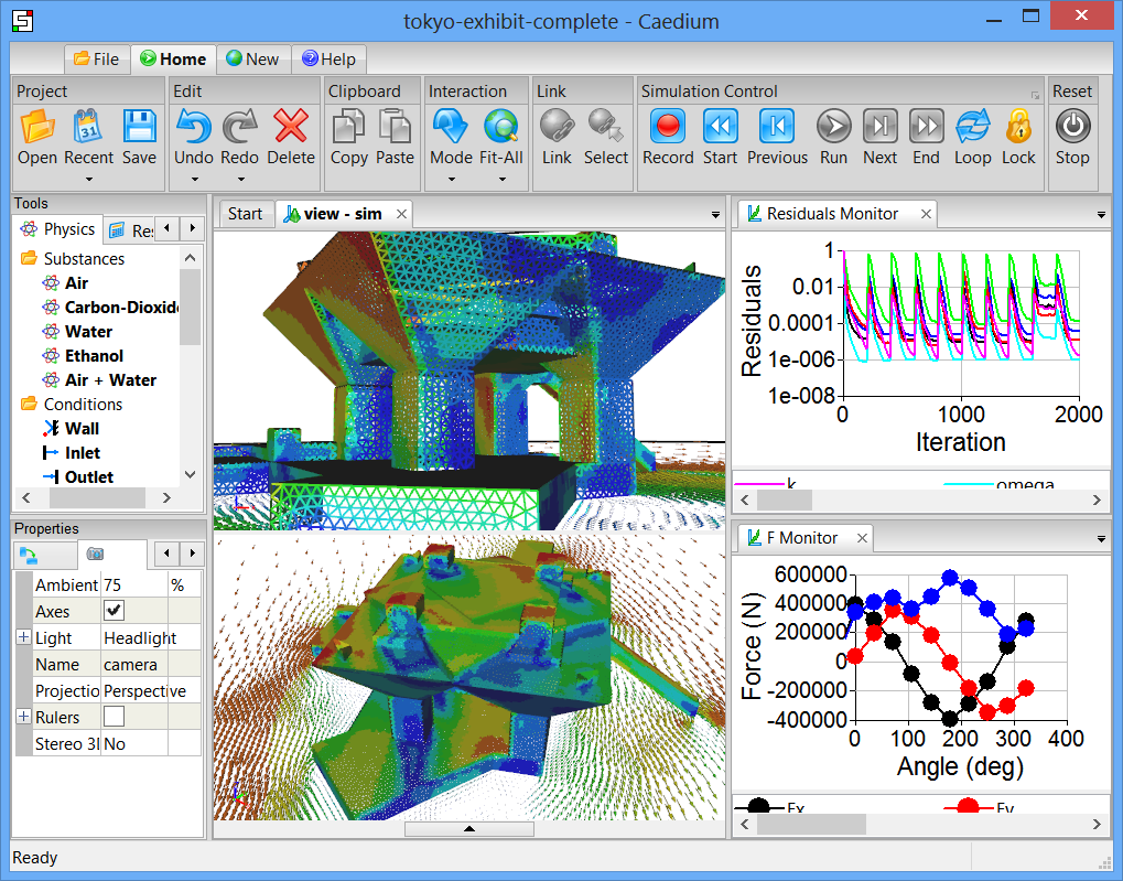 Python Fluid Simulation