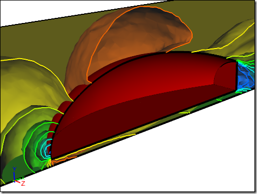 Caedium CFD Simulation of a Baseline Concept Design