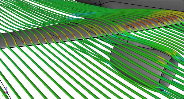 Caedium CFD Simulation of an Airliner