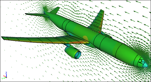 CFD Simulation of an Airliner