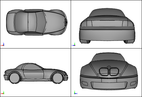 CFD Car Geometry
