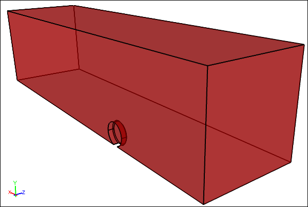 Wheel Solid and Outer Box Solid After Subtract Boolean