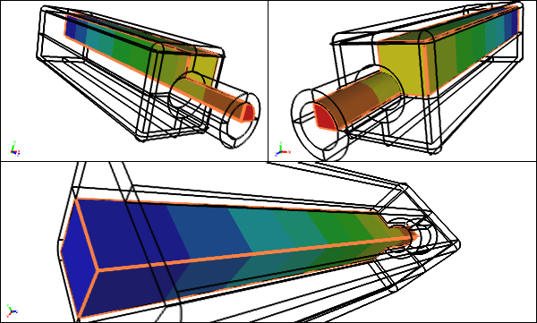 Internal CFD Flow Volume