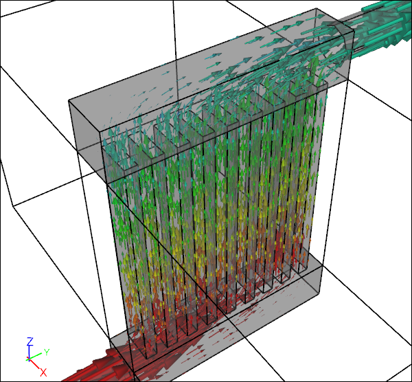 CFD Conjugate Heat Transfer for a Heat Exchanger