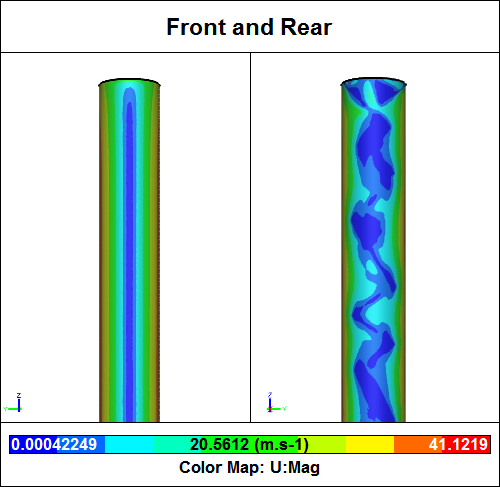 CFD Simulation of a Smooth Chimney