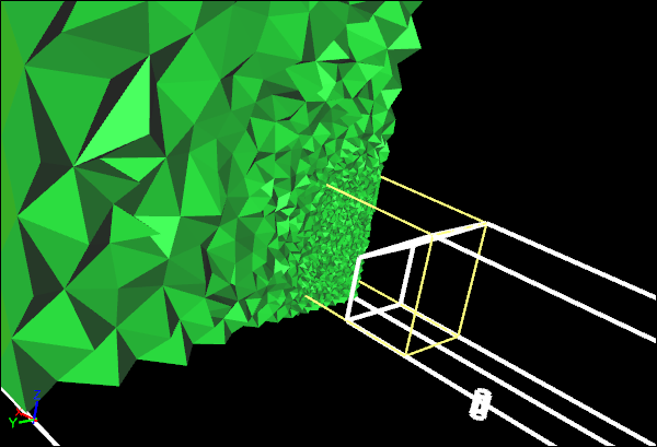 Volume Mesh with Separate Volume Mesh Constraint