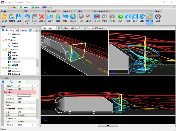 Single, Integrated CFD Simulation Environment