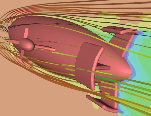 CFD Simulation of Flow Around an Airship