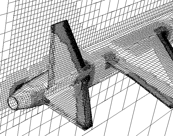 CFD Cartesian Mesh