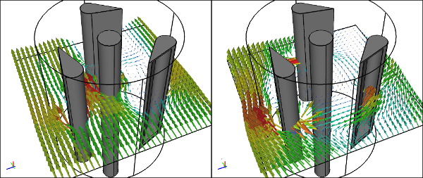 Vertical Axis Wind Turbine Lenz2 Caedium CFD Simulation