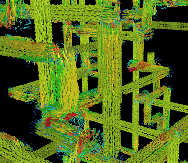 Just For Fun CFD Simulation of Multiple Pipe Networks