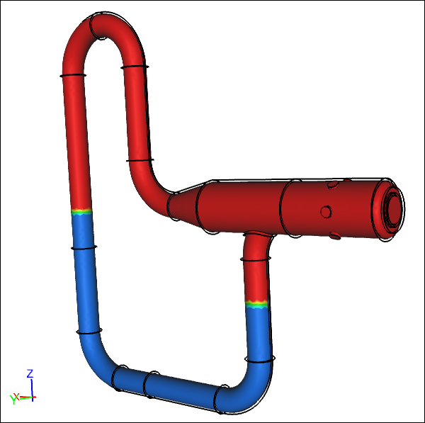 CFD Simulation of a Pitot Tube and Manometer