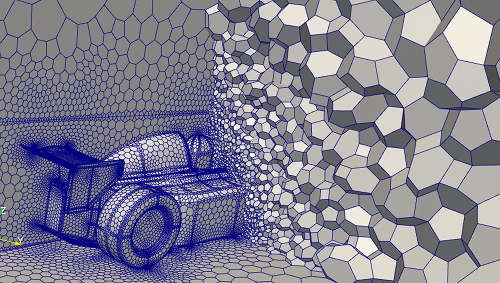 CFD Polyhedral Volume Mesh